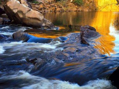 Esquema de los ríos